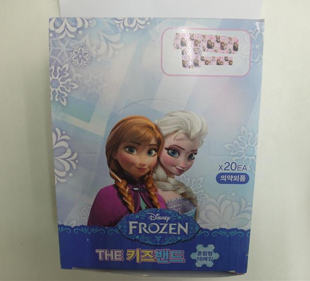 妮好快樂韓國直送冰雪奇緣OK繃1盒16入