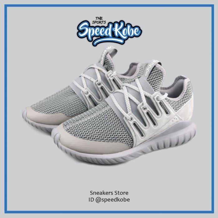 Adidas 休閒鞋 Tubular  灰 反光 USA限定 襪套 編織  男女 S76718 【SP】