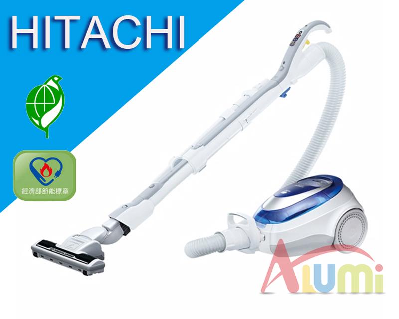 刷卡免運贈品HITACHI日立550W CVSJ11T日本原裝免紙袋吸塵器7480元