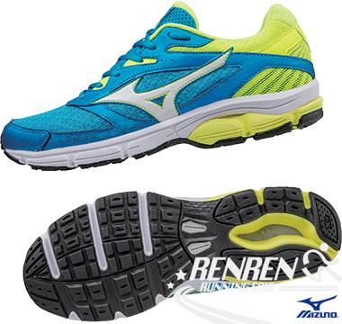 美津濃 MIZUNO 男慢跑鞋 WAVE SURGE  (水藍/黃) 慢跑鞋款 J1GC171310【 胖媛的店 】