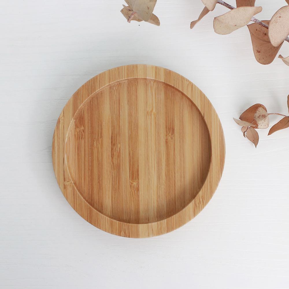竹-新款圓杯墊 杯墊  桌上收納 小物【立格扉ligfe】