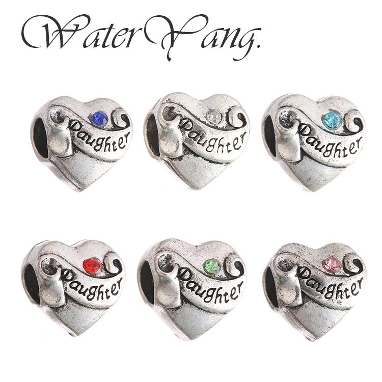 WaterYang.×Daughter - 愛的產物 潘朵拉風手鍊串飾 DIY串珠配件
