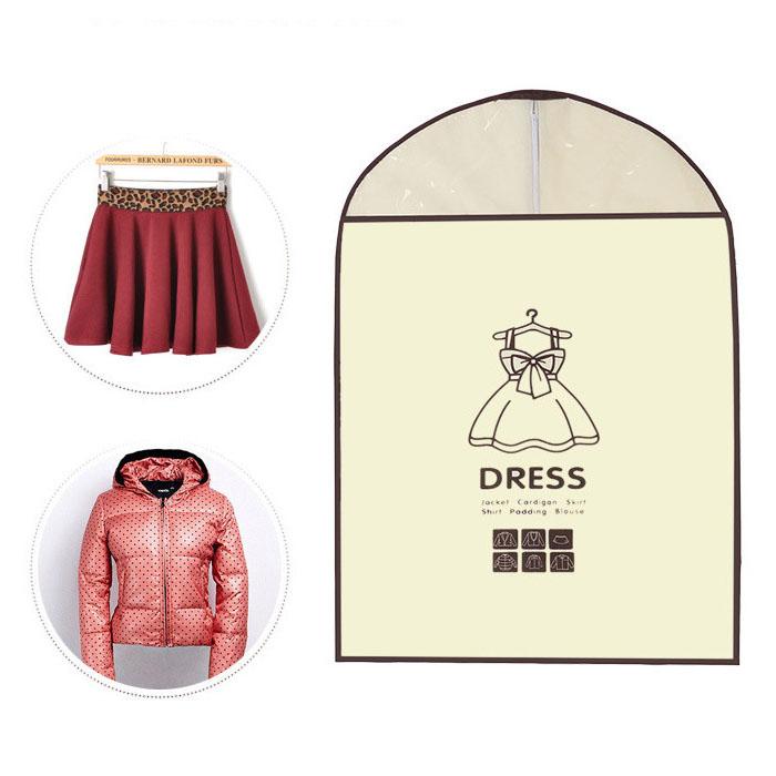 【吉米凱文】韓版 高品質全新料韓版衣服防塵罩 西服罩(裙子) E70