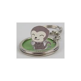 ☆猴子設計☆台灣獼猴-立體鑰匙圈
