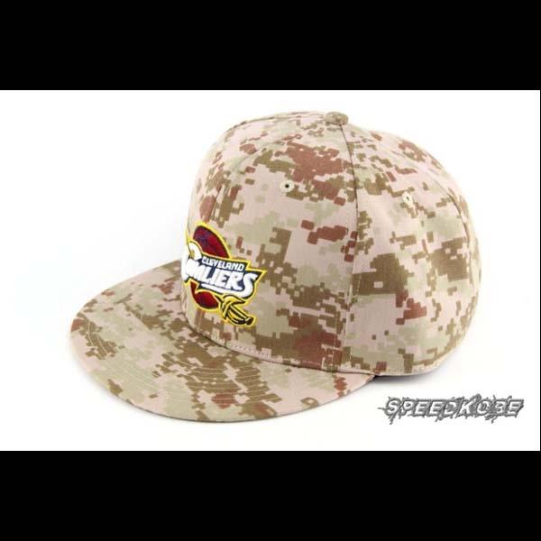 SP創信NBA SNAPBACK棒球帽嘻哈帽騎士隊數位迷彩8531304-011