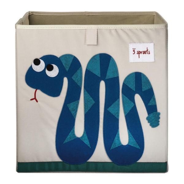 【原廠公司貨】加拿大3 Sprouts 收納箱-小蛇