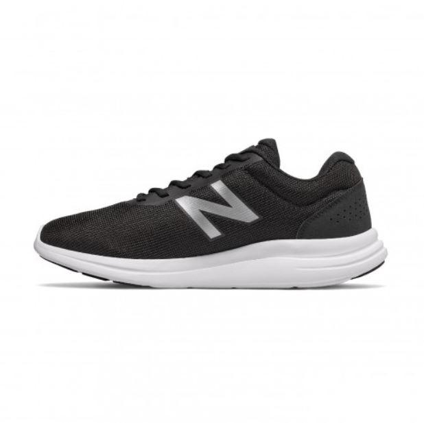 New Balance 男款4E寬楦黑色運動慢跑鞋-NO.ME430B1