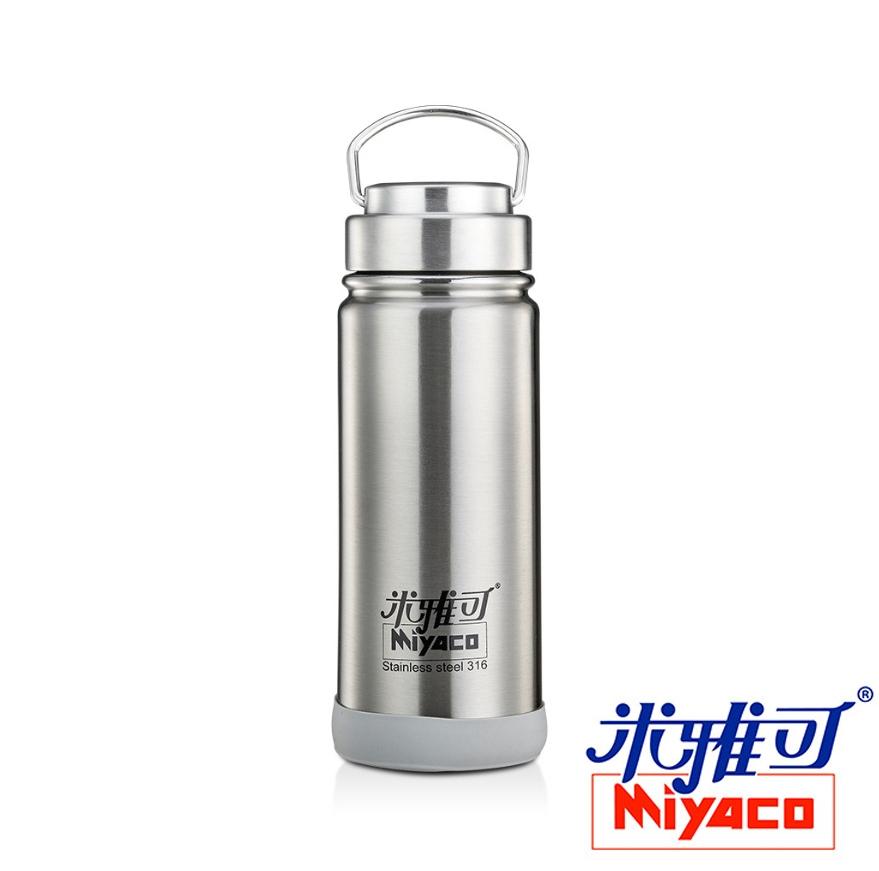 米雅可 經典316不鏽鋼真空廣口保溫杯500CC 不鏽鋼/玫瑰金