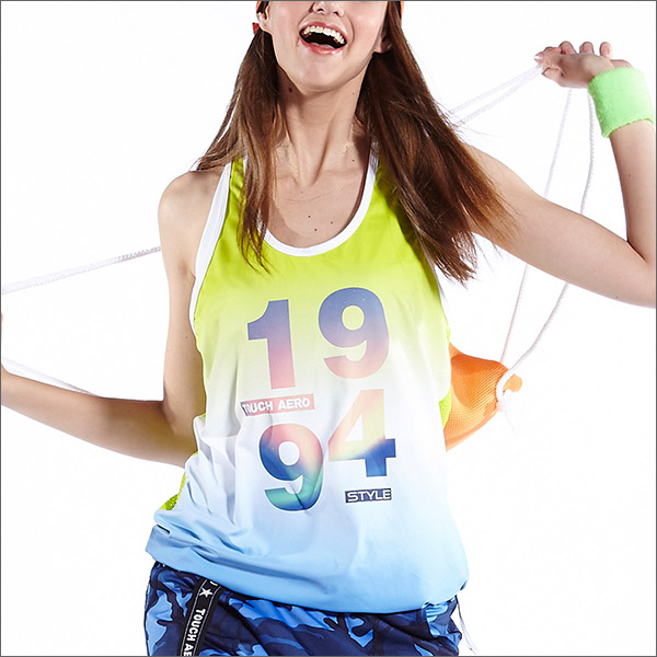 數位漸層罩衫TA596商品圖不含內搭-百貨專櫃品牌TOUCH AERO瑜珈服有氧服韻律服