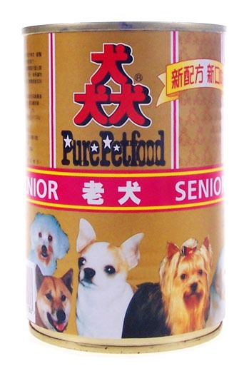 【寵物王國】猋-老犬專用狗罐頭400g