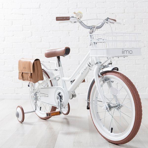 日本iimo兒童腳踏車16吋-經典白~麗兒采家