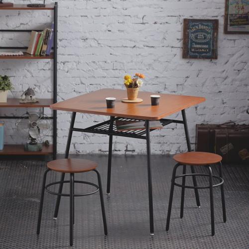 一桌二凳AccessCo工業風復古桌凳組合