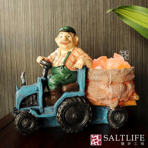 【鹽夢工場】創意造型鹽燈-收穫季節