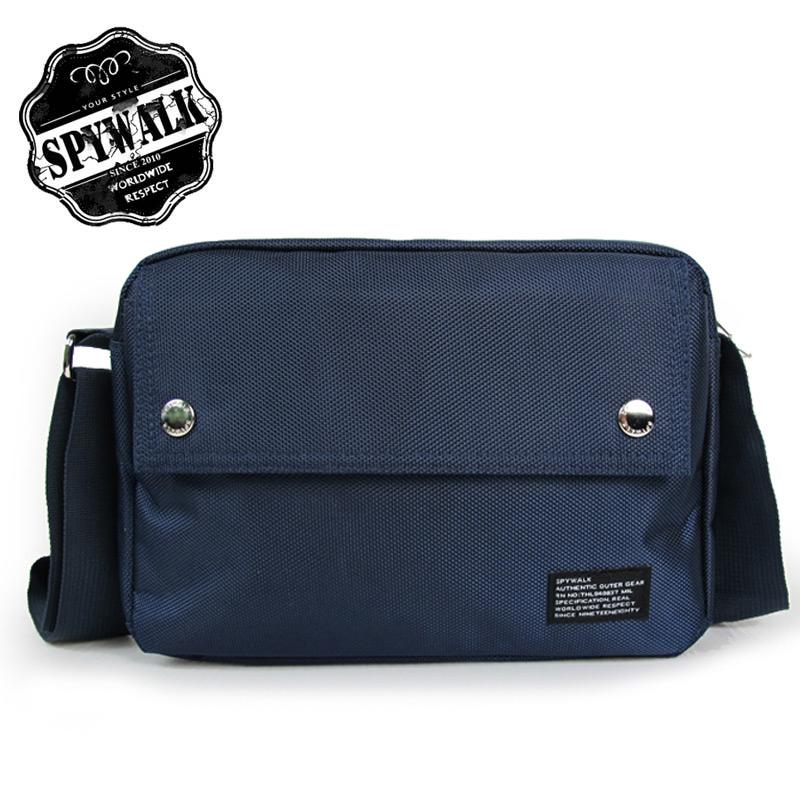 休閒袋 SPYWALK休閒尼龍料工作包斜肩包側包NO:9300