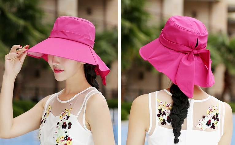 協貿國際夏天可摺疊遮陽防曬帽