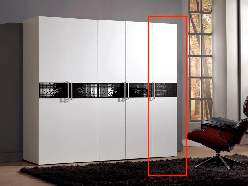 8號店鋪 森寶藝品傢俱 a-01品味生活 臥房系列  620-4 波爾卡1.4尺衣櫥(左3)    (附活動隔板3片)