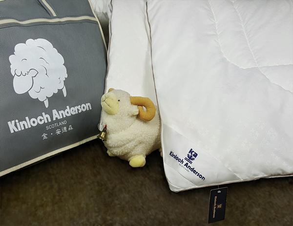 金安德森派克100純新羊毛被雙人6x7 2.8kg
