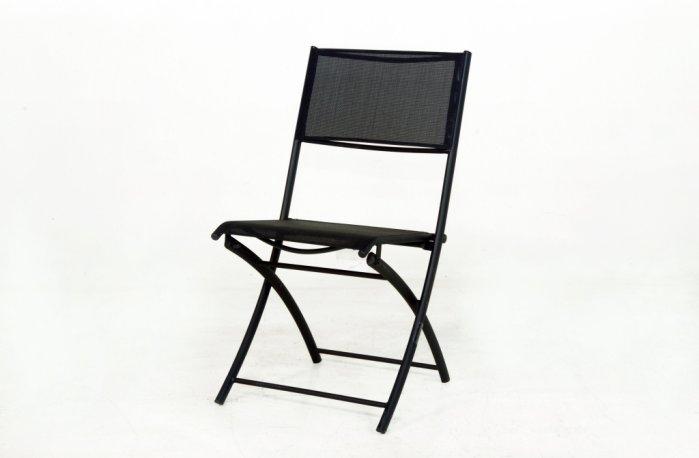 南洋風休閒傢俱餐椅系列鐵製折合紗網椅折合椅烤肉椅補助椅麻將椅S10A66