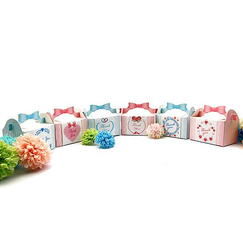 幸福婚禮小物DIY浪漫禮物喜糖盒喜糖盒歐美婚禮小物小禮物盒送客禮桌上禮