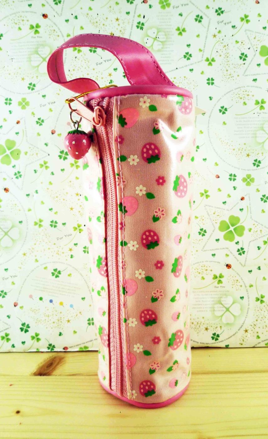 【震撼精品百貨】草莓_Strawberry~防水筆袋-粉