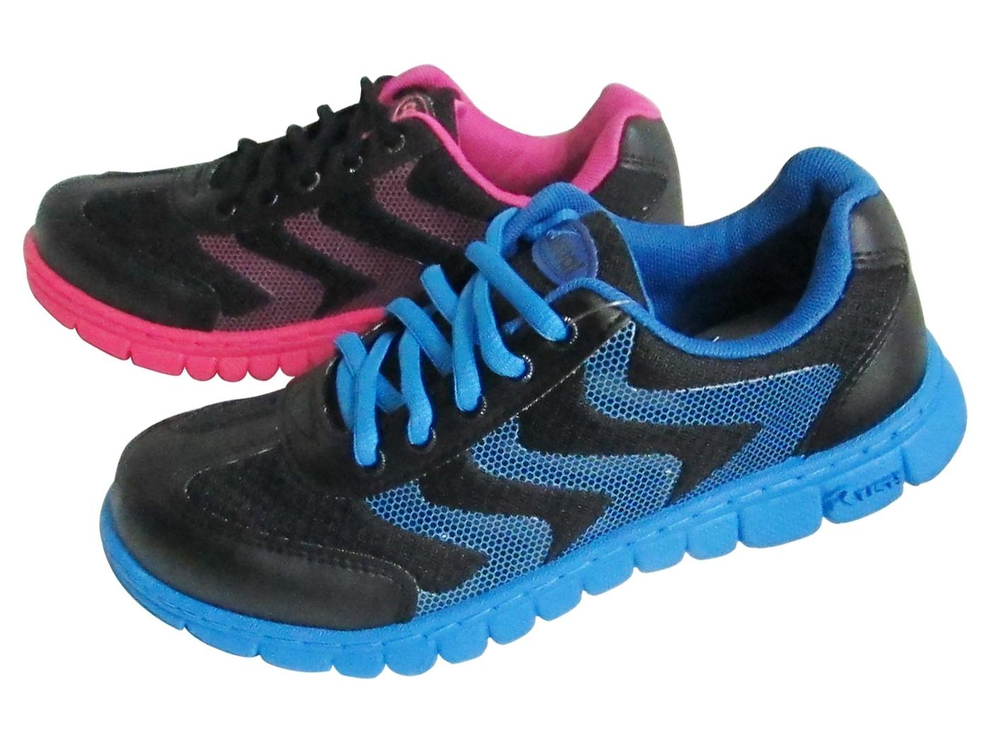 『雙惠鞋櫃』★Eve & Bonson★台灣製造 ★異材質 網洞流線感 女運動休閒鞋  (EB399) 黑藍、黑桃