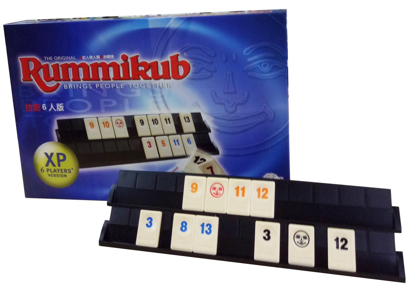 高雄龐奇桌遊拉密六人版Rummikub XP拉密6人標準版正版桌上遊戲專賣店