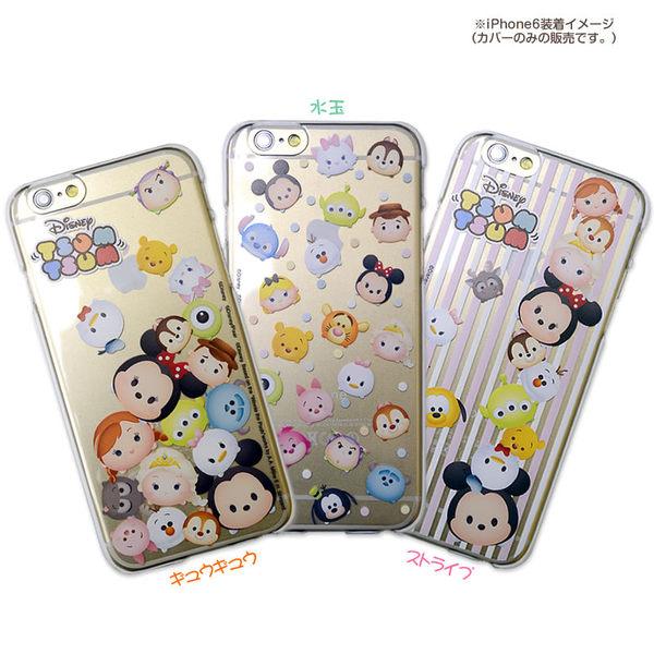 尼德斯Nydus*日本正版迪士尼米奇米妮奇奇蒂蒂三眼怪透明手機殼4.7吋iPhone 6