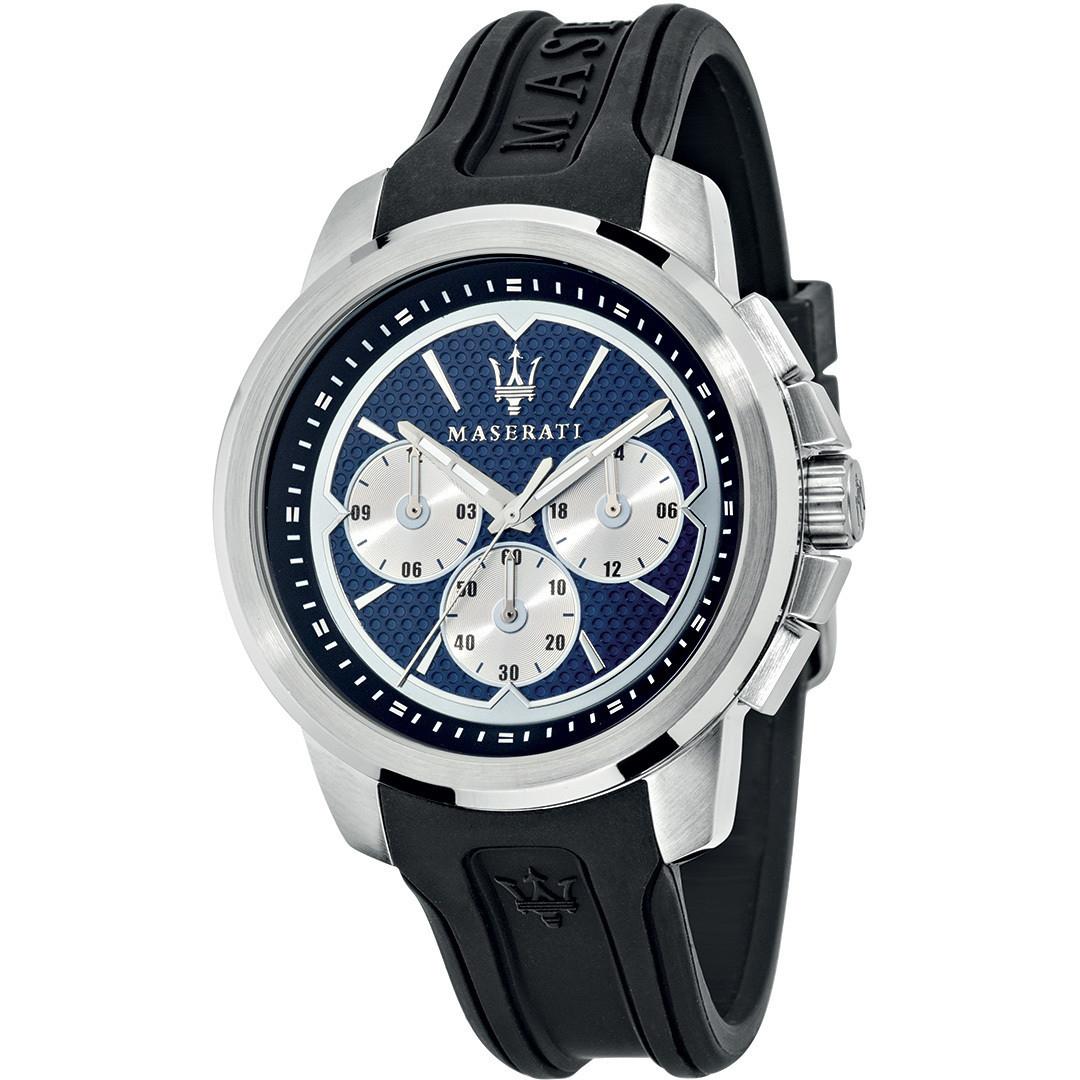 MASERATI WATCH-瑪莎拉蒂手錶-Sfida 3眼石英錶-R8851123002-錶現精品公司-原廠正貨-鏡面保固一年