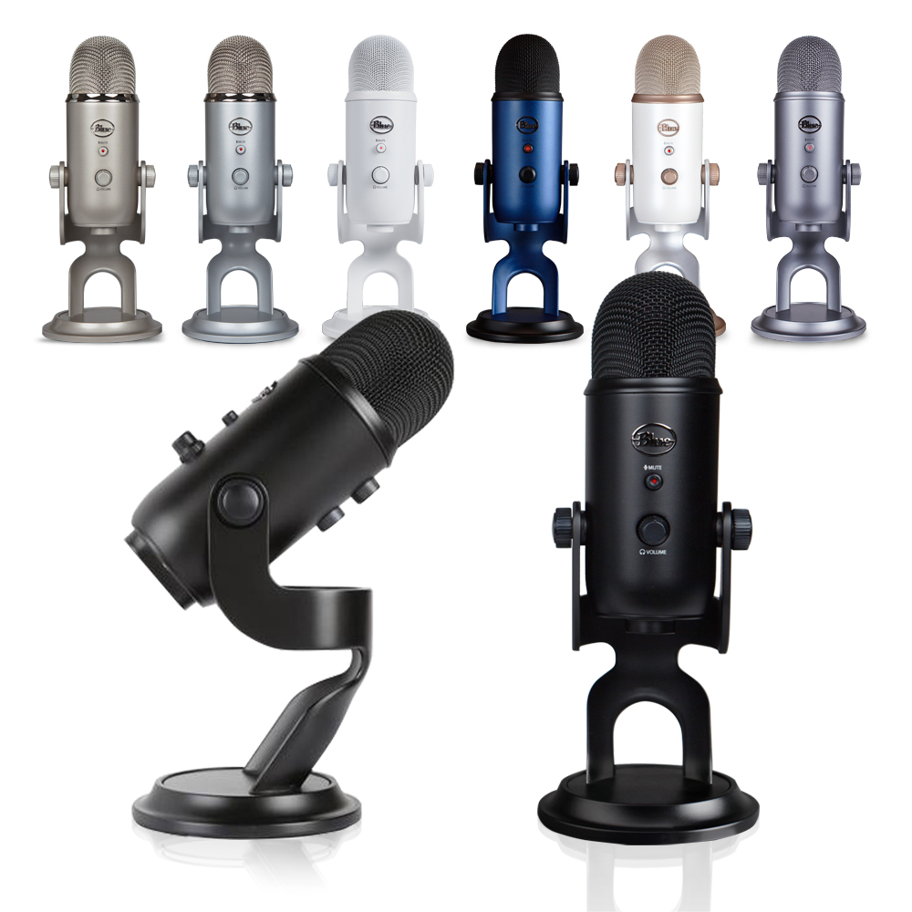 【WowLook】免運保26個月 Blue Yeti USB Microphone 專業型電容式 麥克風 多色可選