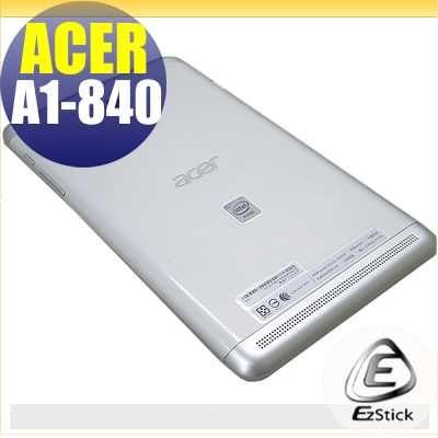 EZstick ACER Iconia Tab 8 A1-840專用二代透氣機身保護貼平板機身背貼DIY包膜
