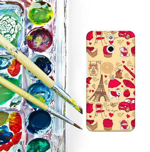 ✿ 3C膜露露 ✿ HTC One E8【華麗鐵塔*水晶硬殼 】手機殼 保護殼 保護套 手機套