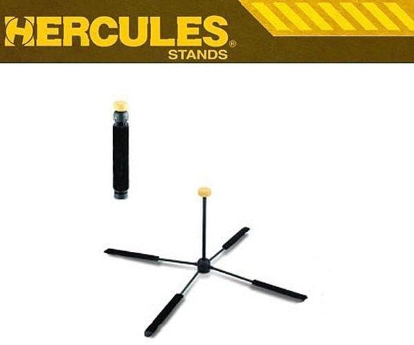 【金聲樂器廣場】 Hercules 海克力斯 DS460B 長笛架(可置入尾管)