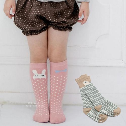 韓國動物棉感止滑長襪 童襪 棉襪 兒童長襪