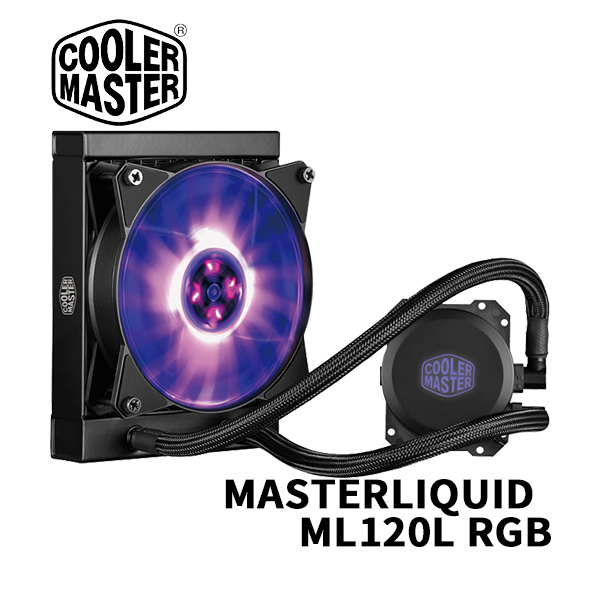 Cooler Master MASTERLIQUID ML120L RGB一體式CPU水冷散熱器