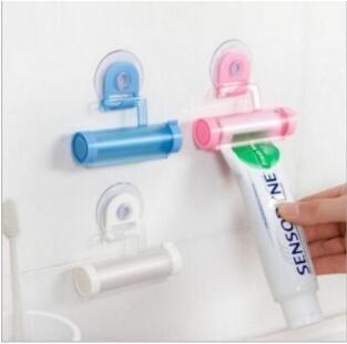 牙膏 伴侶 吸盤 掛鉤 擠牙膏器 牙膏小夥伴 牙膏擠壓器 洗漱用品