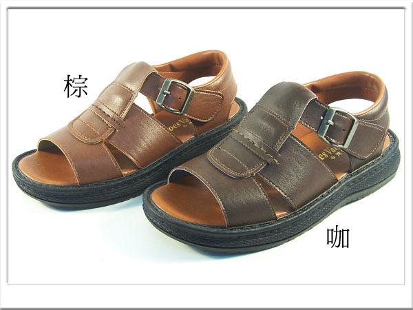『雙惠鞋櫃』Joes Valenyiny 台灣製 縫線 基本 雅痞男仕休閒涼鞋(M-61304) MIT