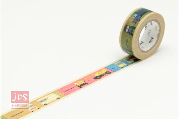 日本MT和紙膠帶-KID交通工具MT01KID012