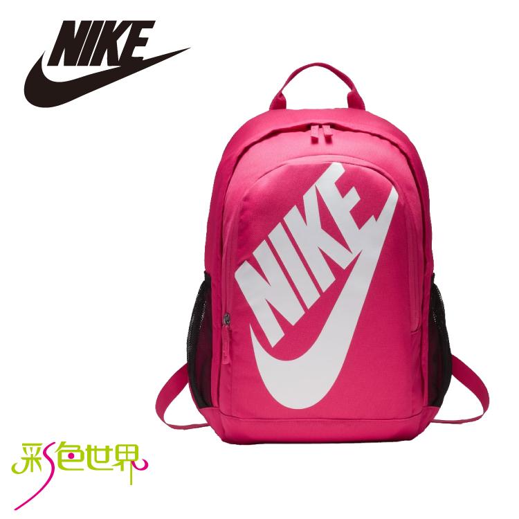 NIKE後背包包大容量筆電包韓版帆布包防潑水學生書包彩色世界5217-694
