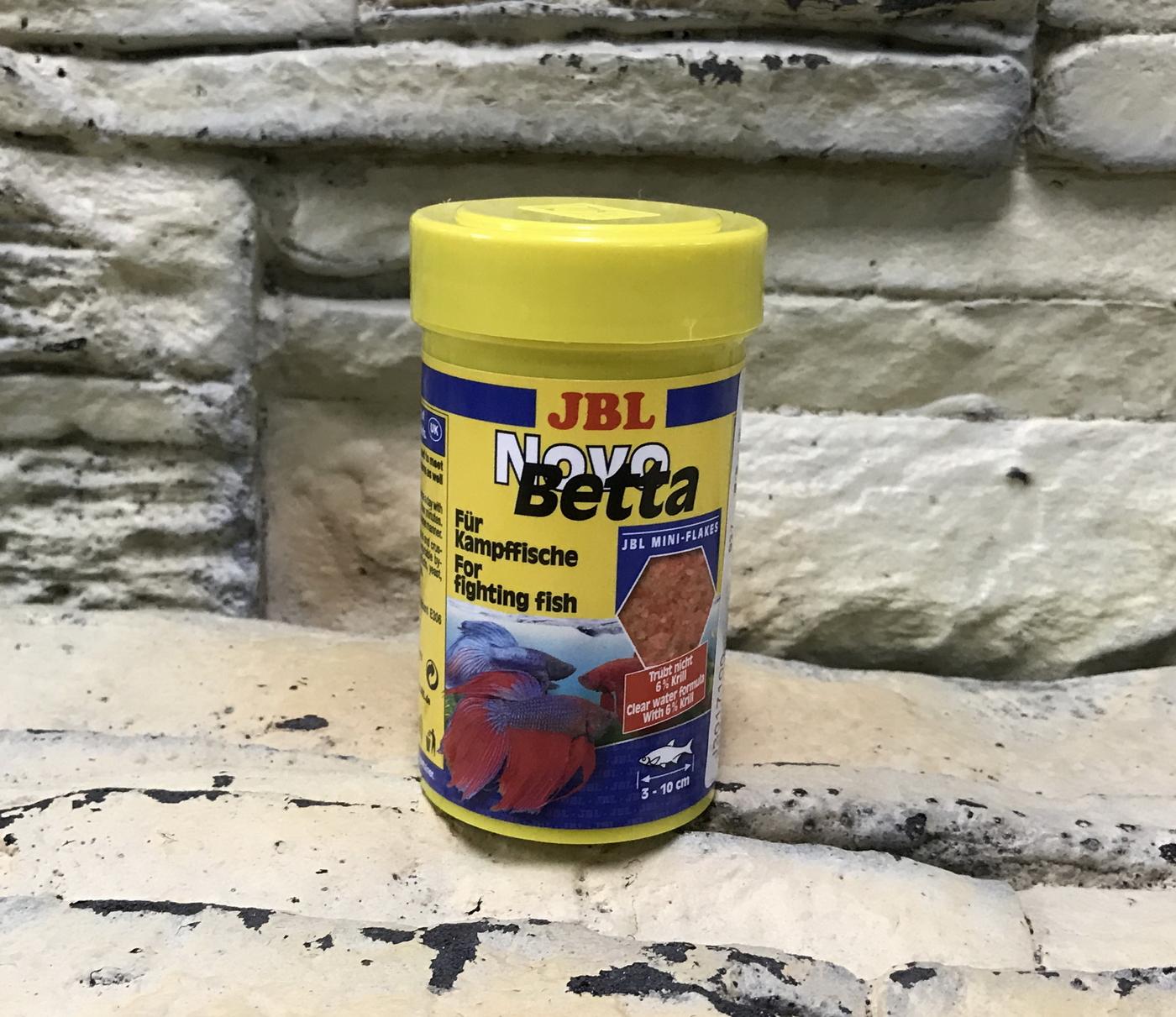 【西高地水族坊】德國JBL 鬥魚專用飼料(NOVO Betta)100ml