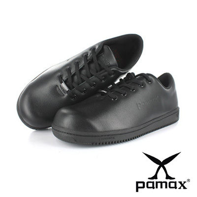PAMAX 帕瑪斯【超彈力氣墊止滑安全鞋】 廚師鞋(止滑餐飲鞋) 輕量抗菌防滑鋼頭鞋 ※ P07701L 男女