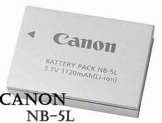 【晶豪泰】Canon NB-5L 原廠 電池 (裸裝)  IXUS850/860/960/970/870/990/SX210IS