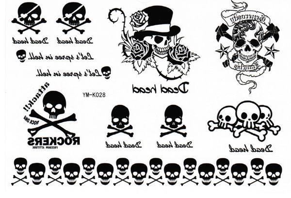 薇嘉雅       紋身貼紙 k-028