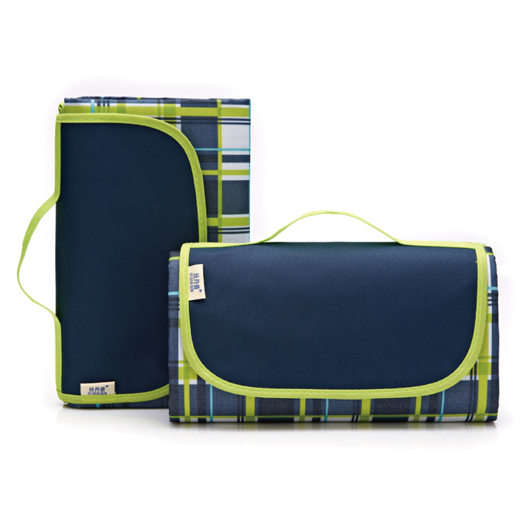 【KA001】格子手提式牛津布防水防潮野餐墊/防潮墊/沙灘墊/睡墊/爬行墊/野營墊 大尺寸