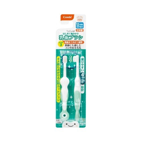 康貝 Combi teteo第三階段刷牙訓練器[衛立兒生活館]