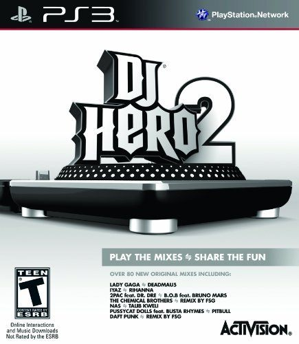 PS3 DJ Hero 2 Stand-Alone Software DJ 英雄 2(單軟體)(美版代購)