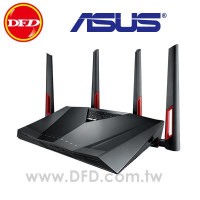 ASUS華碩RT-AC88U電競專用雙頻無線無線AC3100 Gigabit分享器公司貨