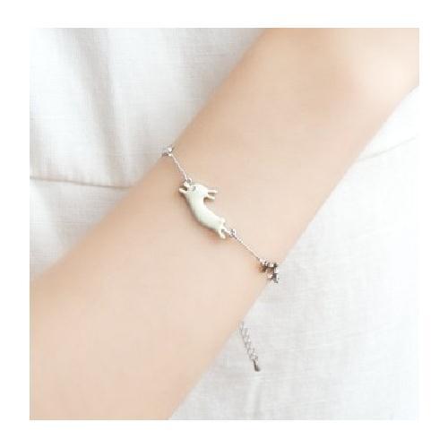 [Mini style] 手鍊 手環 歐美 飾品 日韓版 星星 兔子 貓咪 手鏈 小貓 可愛 造型 森林系 小動物 甜美