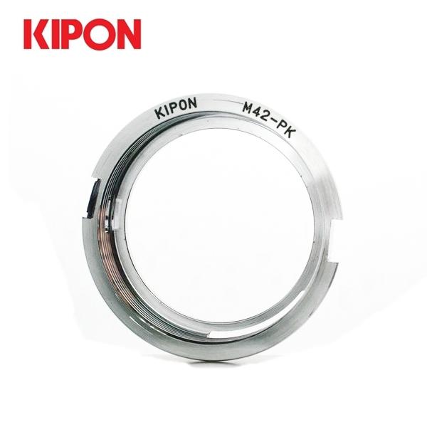 我愛買Kipon M42轉PK鏡頭轉接環有檔板M42-PK接環M42轉KAF卡口M42-Pentax轉接環M42轉Penatx接環M42-KAF接口