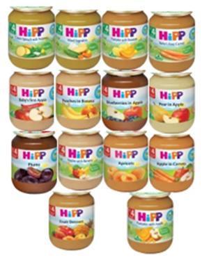 HIPP喜寶-有機/天然蔬果泥系列