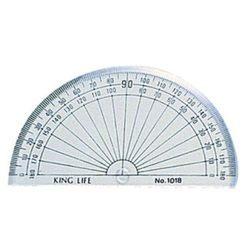 《☆享亮文具☆》NO.1018 半圓分度器10cm(180度c)  LIFE